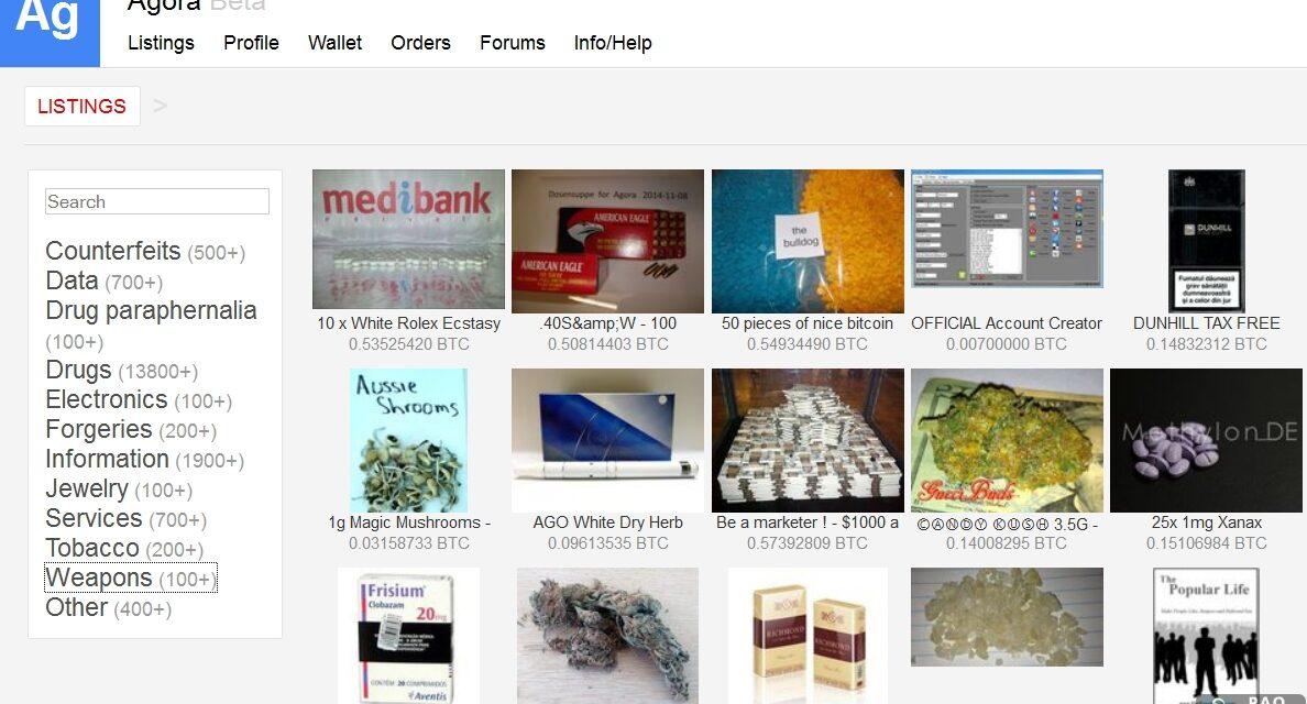 Top 23 trang Web bán đồ bất hợp pháp