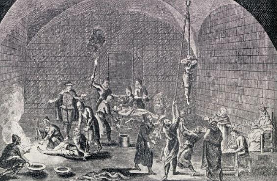 hình ảnh một buổi hành quyết